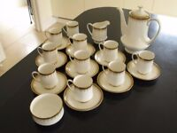 22 piece Paragon Athena Coffee Set. Near mint condition, rarely used, no faults.