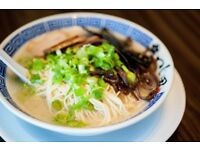 Small Ramen Bar seeking Manager and Waiting staff