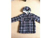 Lee Cooper fleece hooded boys jacket age 11/12
