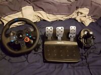 LOGITECH Driving Force G29 Wheel & Gearstick Bundle