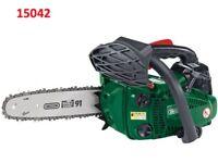DRAPER 15042 25.4CC 250MM ONE HANDED PETROL CHAINSAW W/OREGON® CHAIN & BAR
