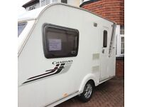 Touring caravan for sale with caravan mover and blow up awning