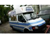 MORRISON ORIGINAL SCOOP ICE CREAM VAN READY TO WORK