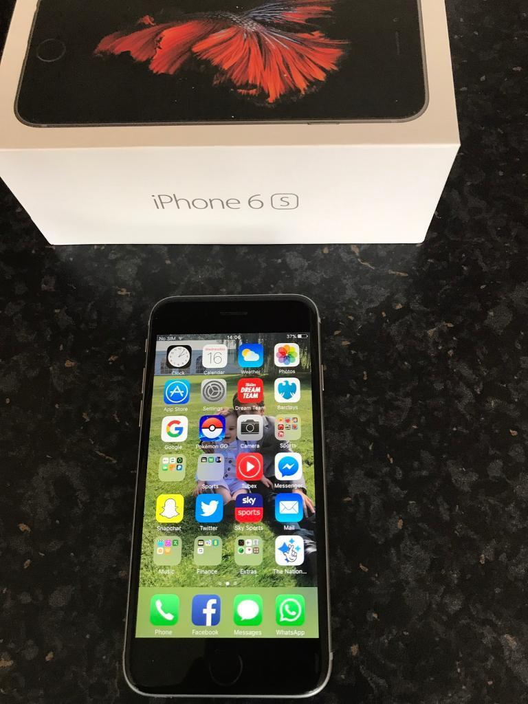 iPhone 6s on EE 16gb in grey280 onoin Rainworth, NottinghamshireGumtree - iPhone 6s for sale used but very good condition. Its a 16gb on EE in grey. There are no cracks or scratches on the screen its had screen cover on and case all the time Ive I had it. It comes in its original box and with a charger. £280 Ono