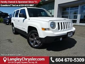 2015 Jeep Patriot ACCIDENT FREE w/ 4X4, LEATHER UPHOLSTERY &...
