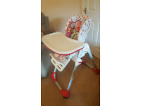 Chicco Polly Highchair - never used immaculate High Chair