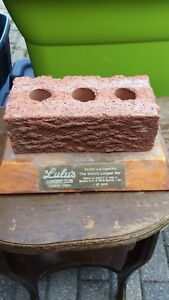 Official brick from the old Lulu's bar