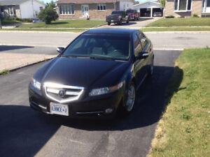 2008 Acura TL w/Nav Pkg Sedan