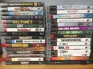 32 Jeux Playstation 3