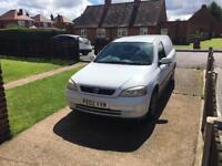 Vauxhall Astra 1.7 diesel van o2 plate
