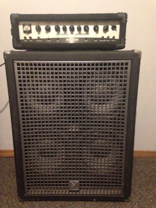 Behringer BX4500H Bass Head and Yorkville XC410 Cab