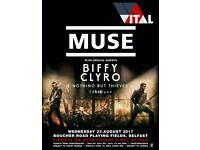 Muse and Biffy Clyro x 2