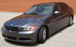 2007 BMW 3-Series Leather/Sunroof/Low Price