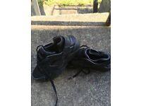 Black huaraches trainers
