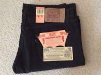 Levi's 501 Black Mens Jeans