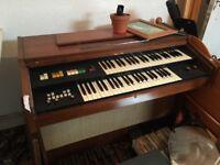 Elka Organ 1970s furniture retro working order