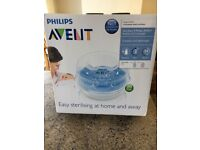 Brand new in box avent steriliser