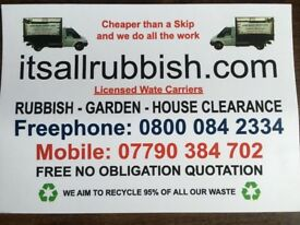 Rubbish Removal 07790 384 702 House Clearance Waste Collection in Walton-on-Thames