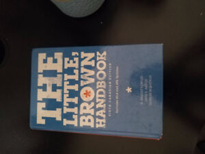 The little brown handbook (sixth canadian edition)-