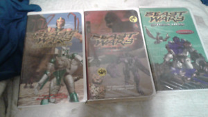 3 Beast Wars VHS tapes