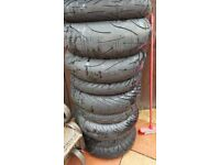 got a mint pair of bridgestone 016 tyres ,like new 180-55-17 rear 120-70-17 front r6 cbr gsxr