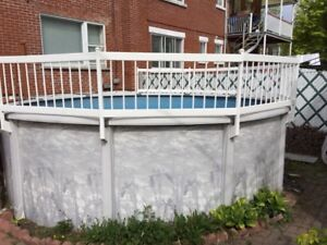 Piscine hors-terre 15pieds - Above Ground Pool 15 ft