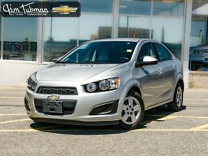 2012 CHEVROLET SONIC LS ***LOW KMS!!!***