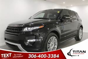 2012 Land Rover Range Rover Evoque AWD Nav Heated Leather PST Pa