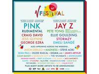 V Festival ticket - Weston Park