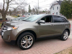 2013 Ford Edge Limited SUV with extended warranty