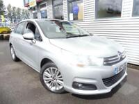 CITROEN C4 1.6 VTR PLUS 5d AUTO 118 BHP **GENUINE LOW MILES** (silver) 2012