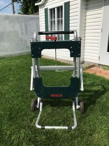 Bosch TS2000 Gravity-Rise Table Saw Stand