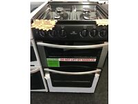STOVES 55CM BRAND NEW ALL GAS COOKER IN SILIVER