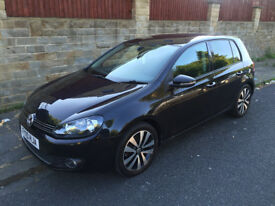 VOLKSWAGEN VW GOLF 2.0 GT TDI 140 BHP 89K MILES GTD ALLOYS PX WELCOME AUDI, BMW, SKODA, FORD