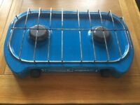 Lagon gamongaz two ring gas camping stove