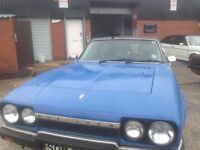 Reliant Scimitar barn find classic car