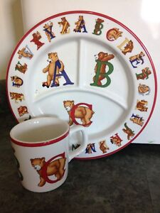 Baby plate and cup