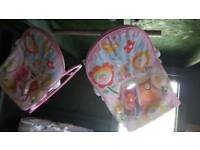 X2 Pink Baby Rockers