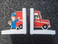 Postman Pat Bookends