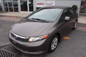 2012 Honda Civic Sdn LX Auto JAMAIS accidenté, 1 proprio