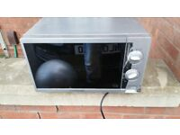 2 microwaves - large 900W and smaller 700W