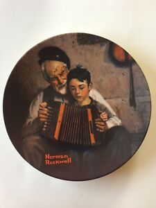 Norman Rockwell - Collector Plate - 1981 - Music Maker