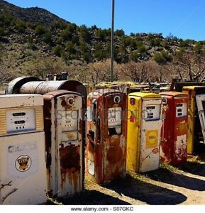 Wanted old gas pump for yard art