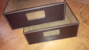 Brown Modern Organizers - for sale !