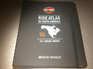 Harley-Davidson Ride Atlas of North America: U.S, Canada Mexico