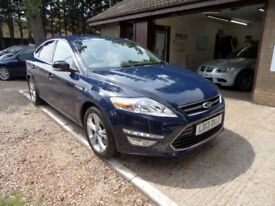 FORD MONDEO 1.6 TITANIUM TDCI 5d 114 BHP 1 OWNER FROM NEW + SE (blue) 2013