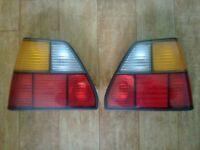 Mk2 Golf Hella standard tail lights