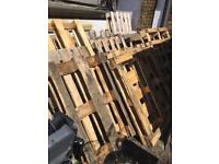 Free 20 wooded pallets
