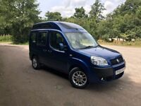 Fiat Doblo 1.4 High Top Disability Adapted Vehicle Wheelchair Ramp Campervan MPV Electric Winch WAV