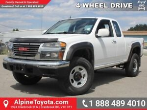 2011 GMC Canyon SLE W/1SA  Low Kms - 4x4 - Manual - Bed Liner